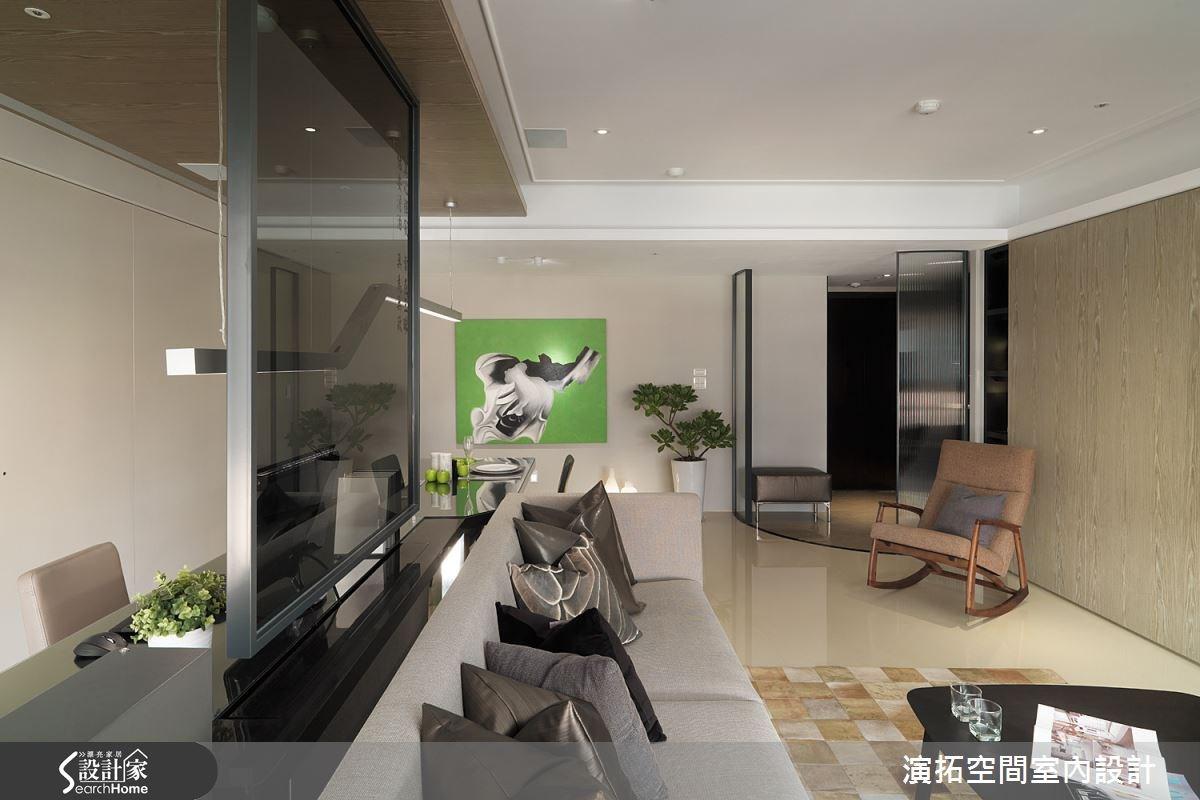 32坪新成屋(5年以下)_現代風客廳案例圖片_演拓空間室內設計_演拓_58之4