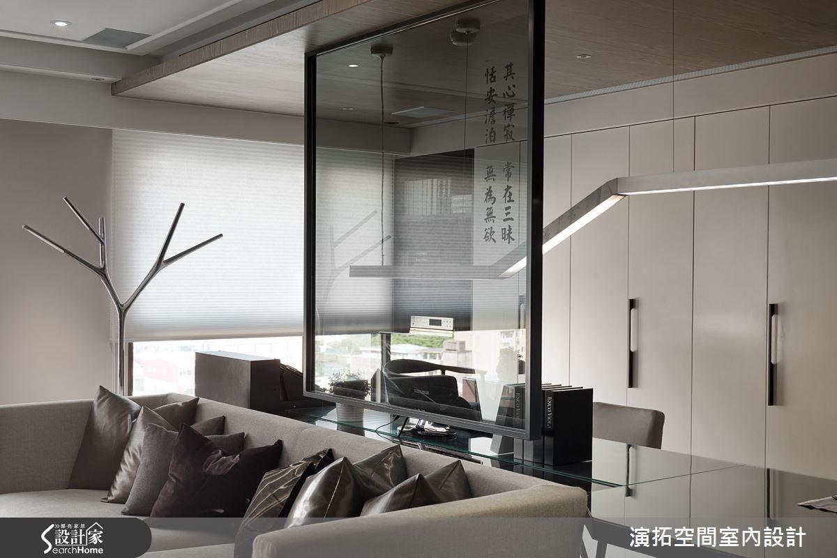 32坪新成屋(5年以下)_現代風客廳案例圖片_演拓空間室內設計_演拓_58之6