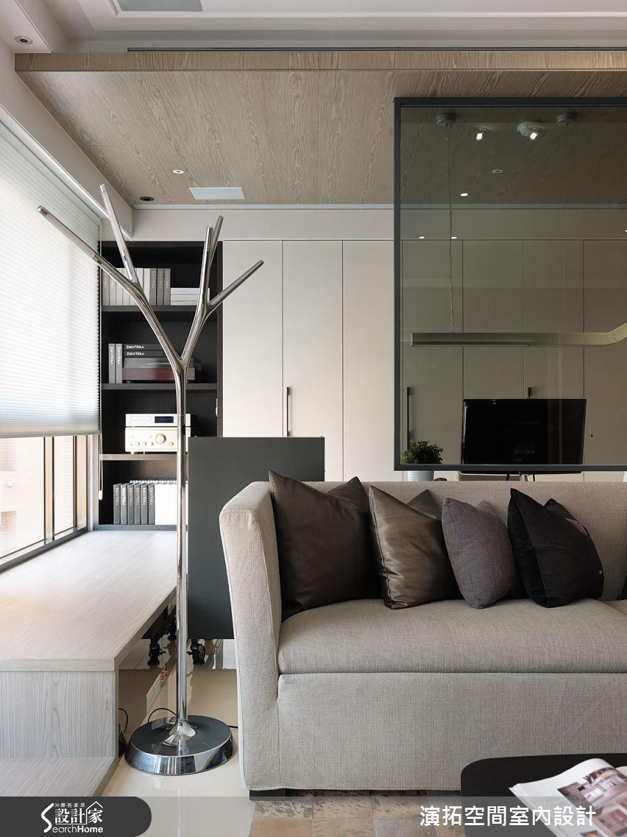 32坪新成屋(5年以下)_現代風客廳案例圖片_演拓空間室內設計_演拓_58之7