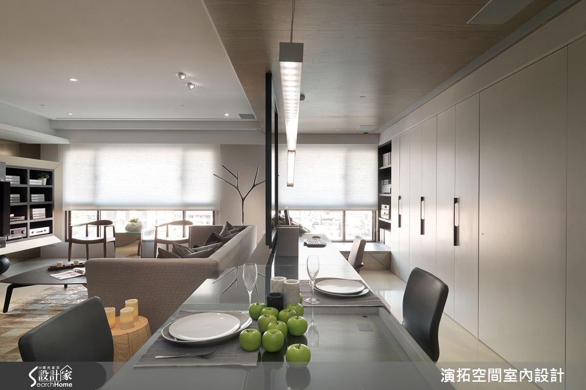 32坪新成屋(5年以下)_現代風餐廳案例圖片_演拓空間室內設計_演拓_58之9