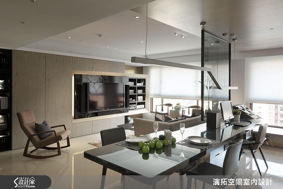 32坪新成屋(5年以下)_現代風餐廳案例圖片_演拓空間室內設計_演拓_58之10