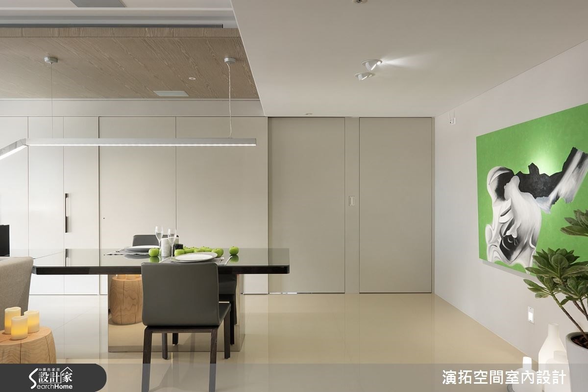 32坪新成屋(5年以下)_現代風餐廳案例圖片_演拓空間室內設計_演拓_58之12