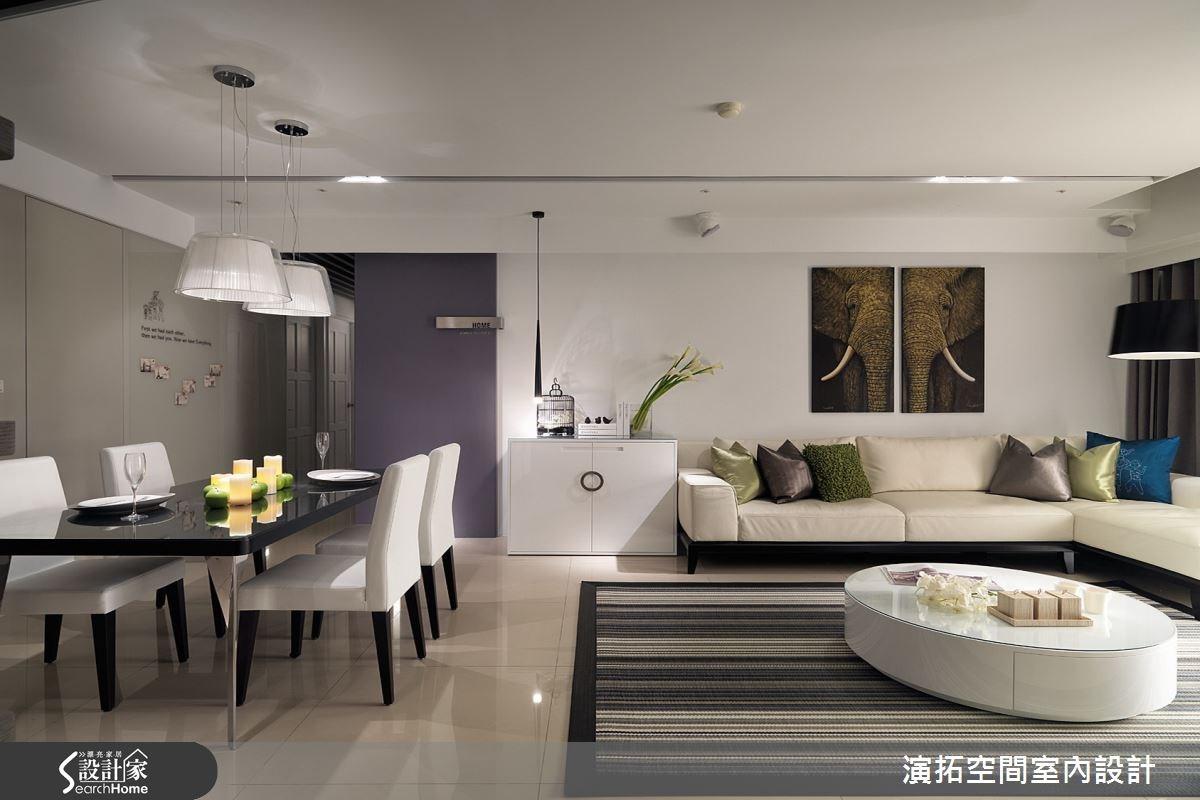52坪新成屋(5年以下)_現代風客廳案例圖片_演拓空間室內設計_演拓_60之3