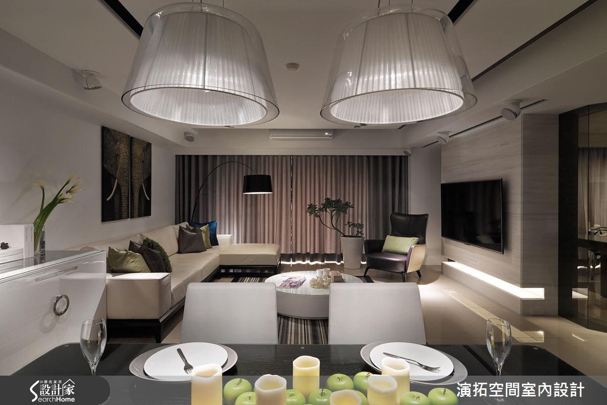 52坪新成屋(5年以下)_現代風餐廳案例圖片_演拓空間室內設計_演拓_60之8