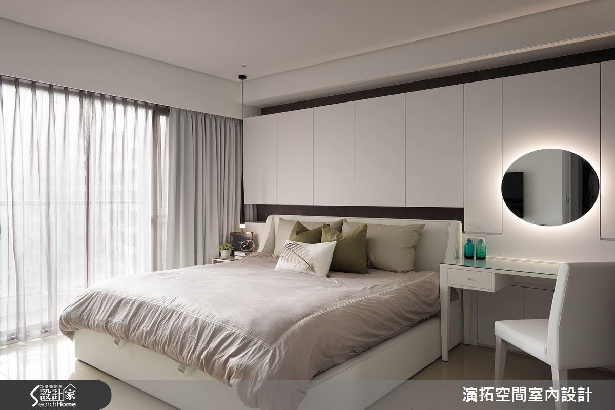 52坪新成屋(5年以下)_現代風臥室案例圖片_演拓空間室內設計_演拓_60之10