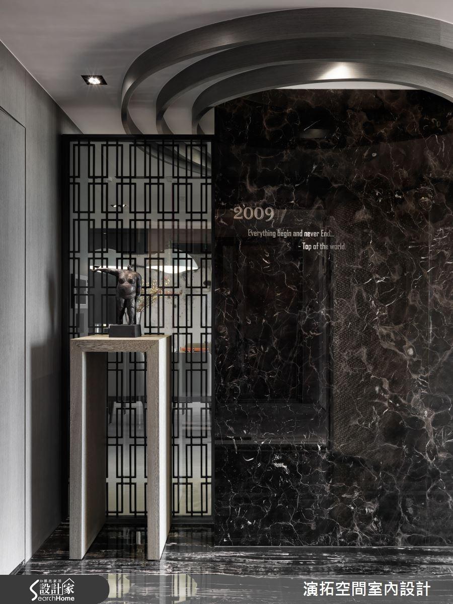 65坪新成屋(5年以下)_現代風玄關案例圖片_演拓空間室內設計_演拓_66之1