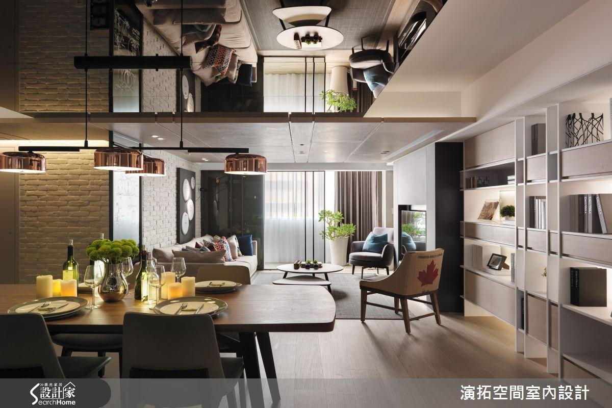 37坪老屋(16~30年)_工業風餐廳案例圖片_演拓空間室內設計_演拓_69之3