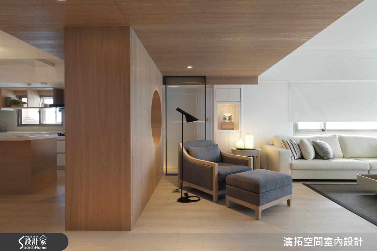 43坪老屋(16~30年)_休閒風客廳案例圖片_演拓空間室內設計_演拓_70之5