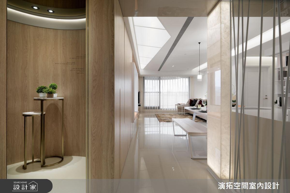 36坪新成屋(5年以下)_現代風玄關案例圖片_演拓空間室內設計_演拓_73之2