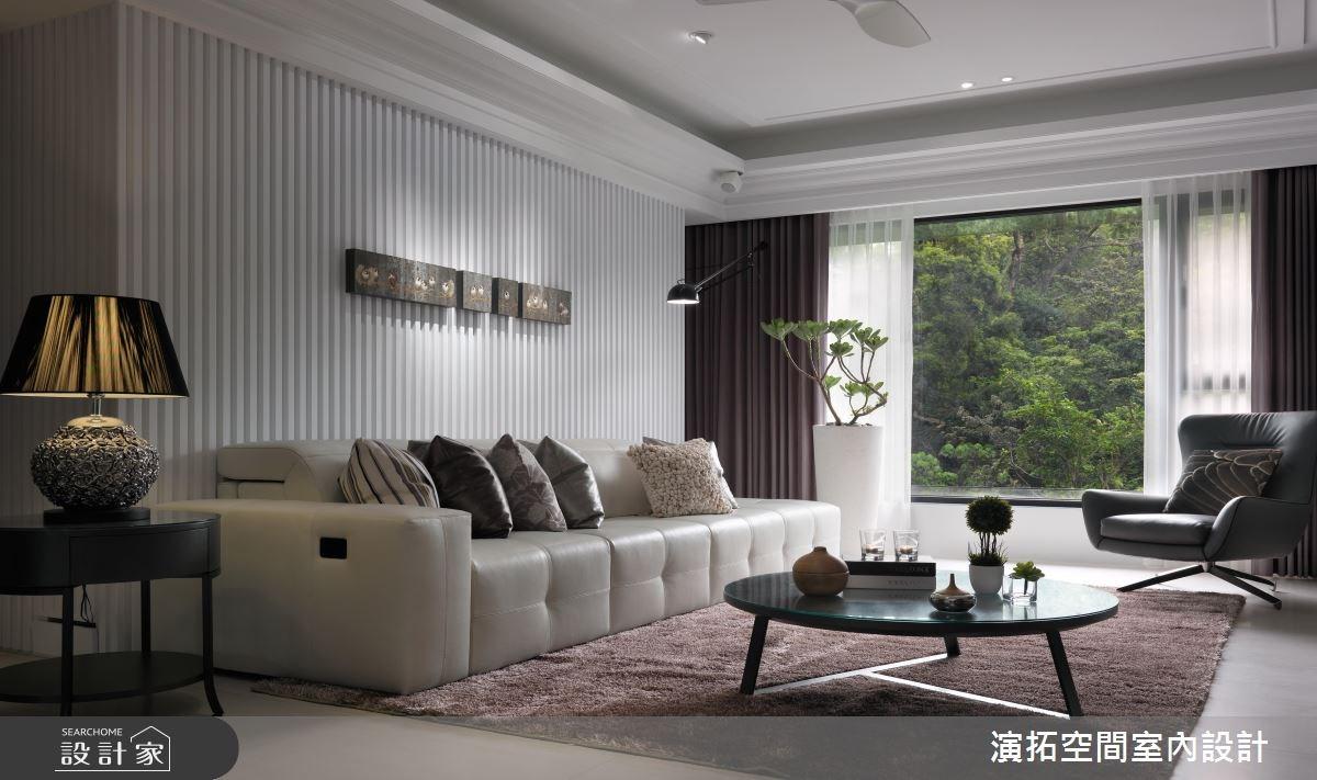 35坪新成屋(5年以下)_新古典客廳案例圖片_演拓空間室內設計_演拓_77之1