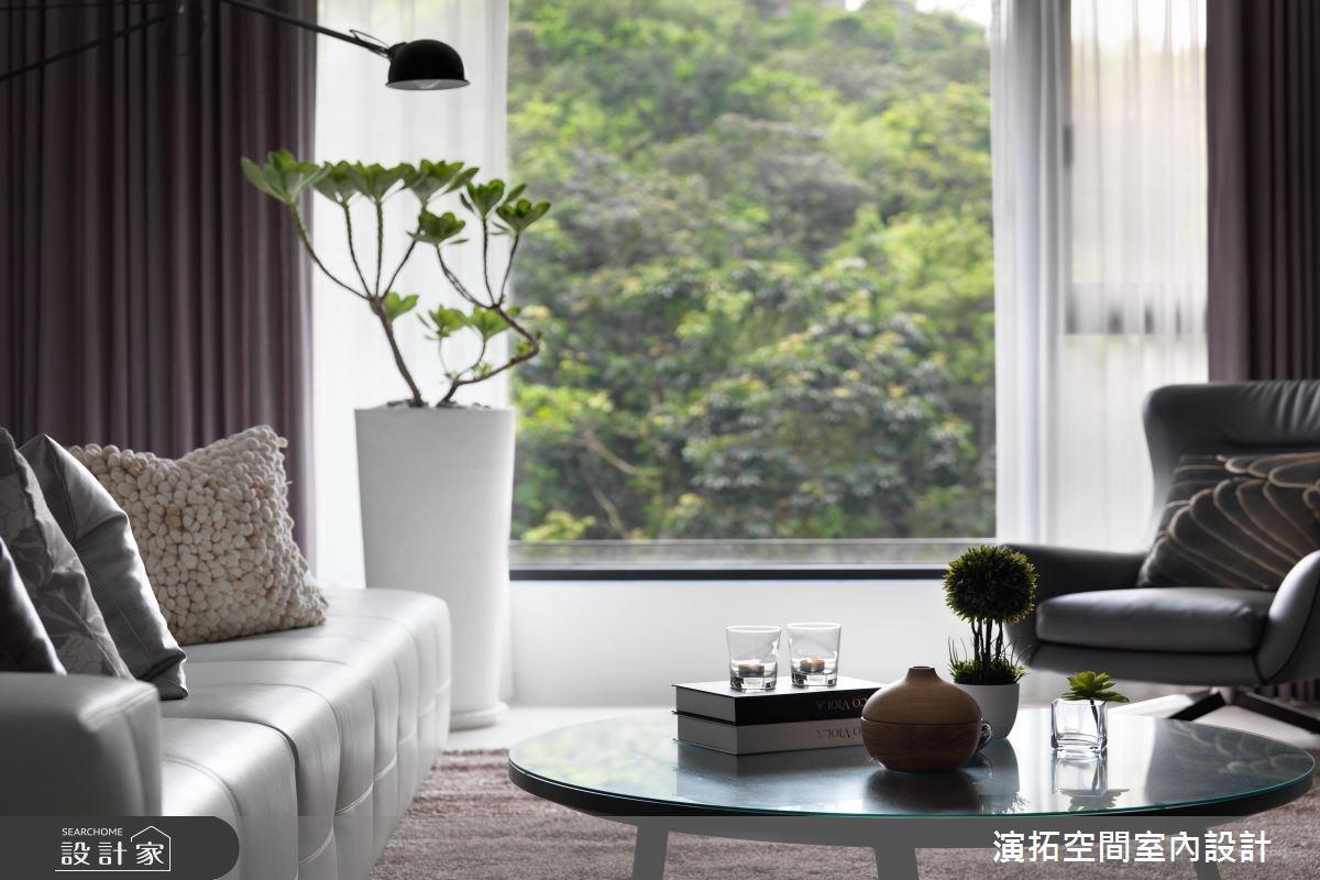 35坪新成屋(5年以下)_新古典客廳案例圖片_演拓空間室內設計_演拓_77之4