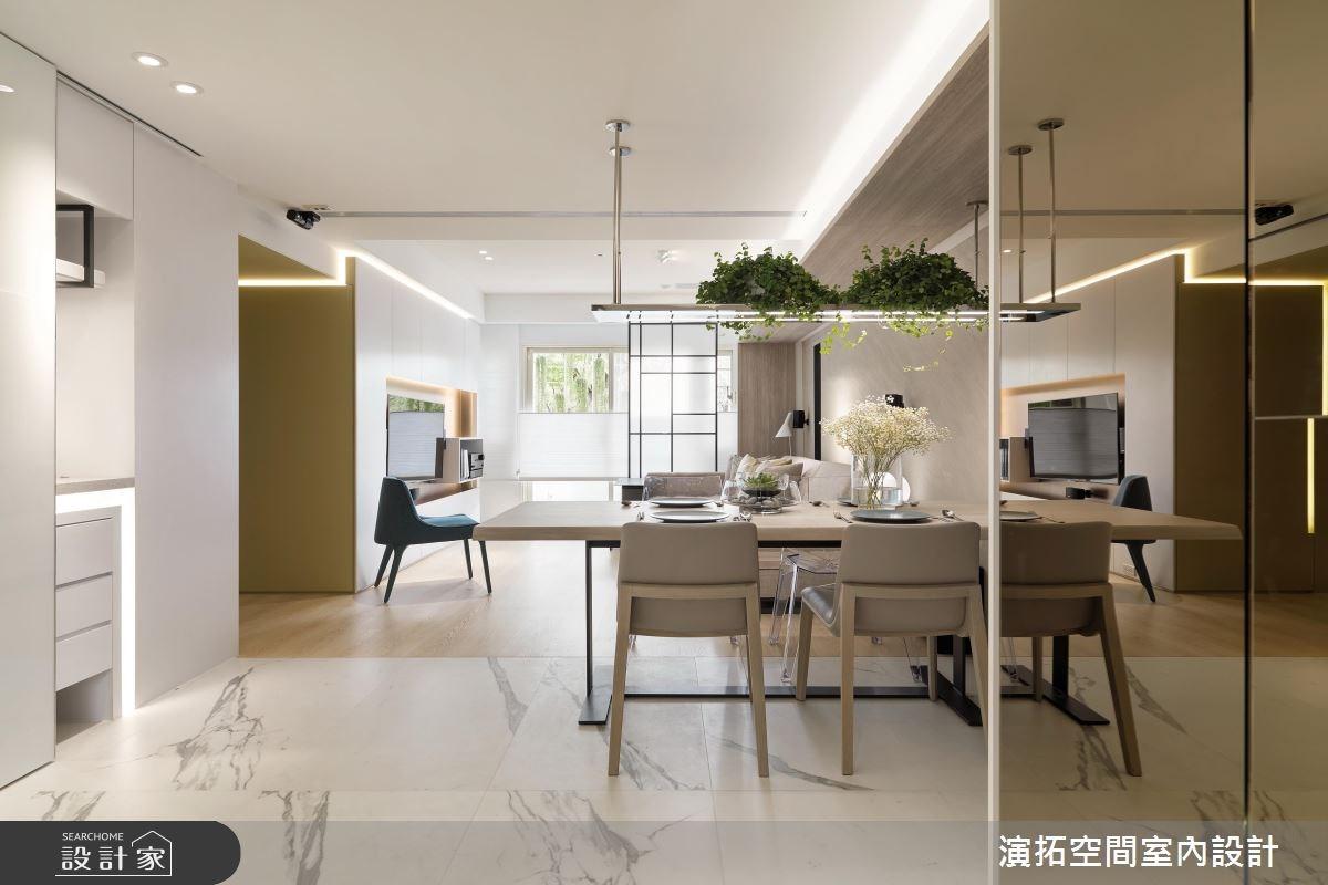 30坪老屋(16~30年)_簡約風餐廳案例圖片_演拓空間室內設計_演拓_78之2