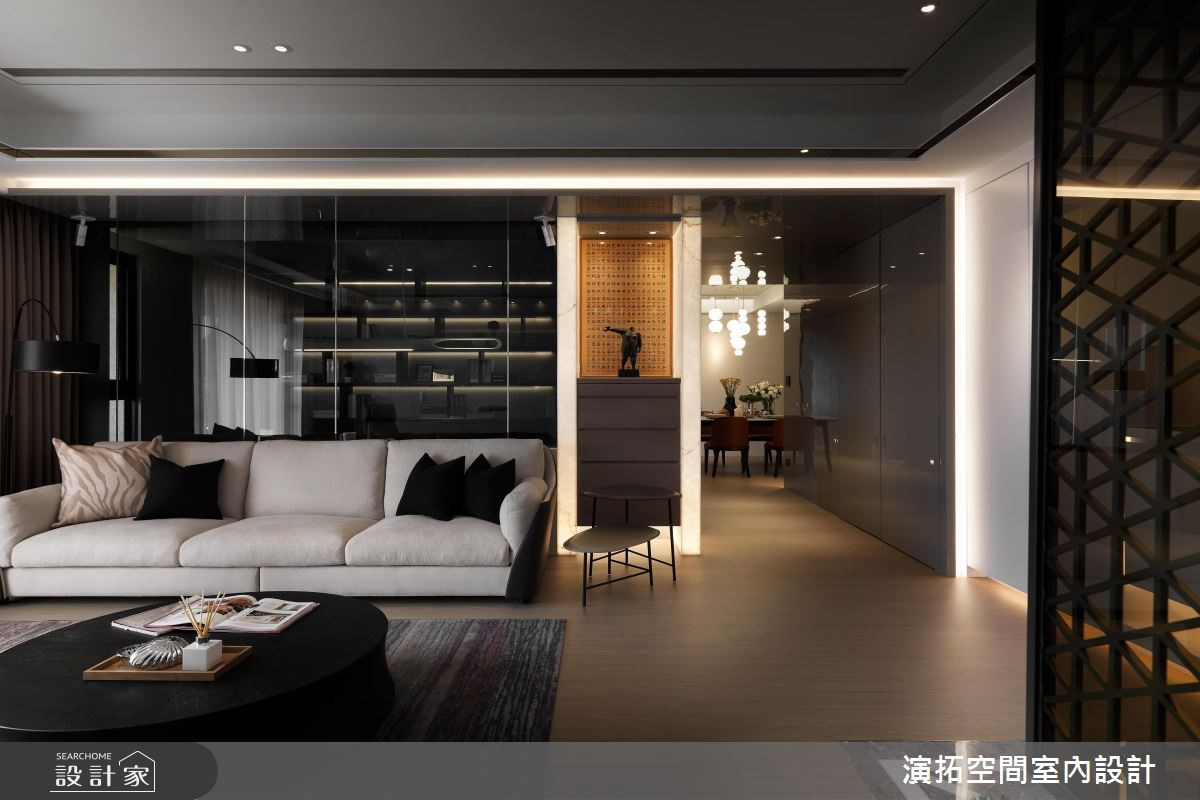 56坪新成屋(5年以下)_現代風客廳案例圖片_演拓空間室內設計_演拓_80之3