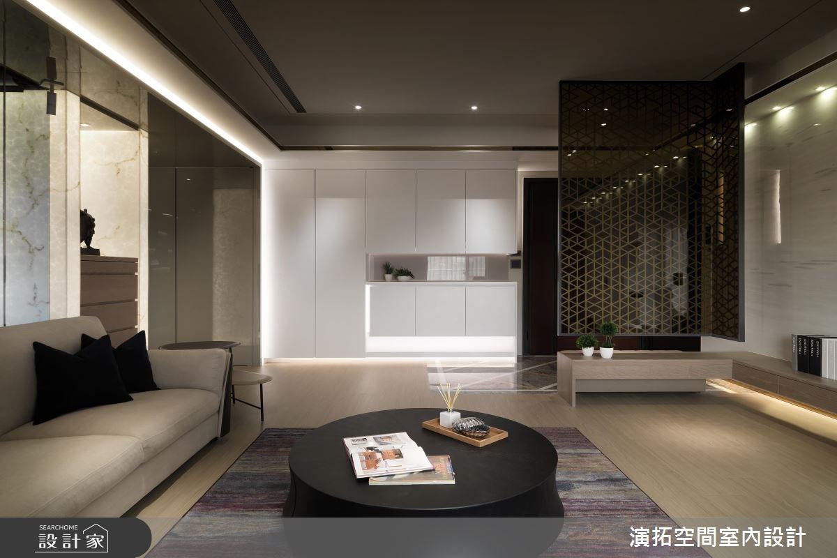 56坪新成屋(5年以下)_現代風客廳案例圖片_演拓空間室內設計_演拓_80之5