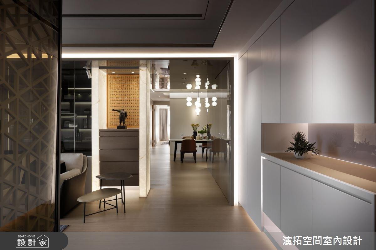 56坪新成屋(5年以下)_現代風走廊案例圖片_演拓空間室內設計_演拓_80之6