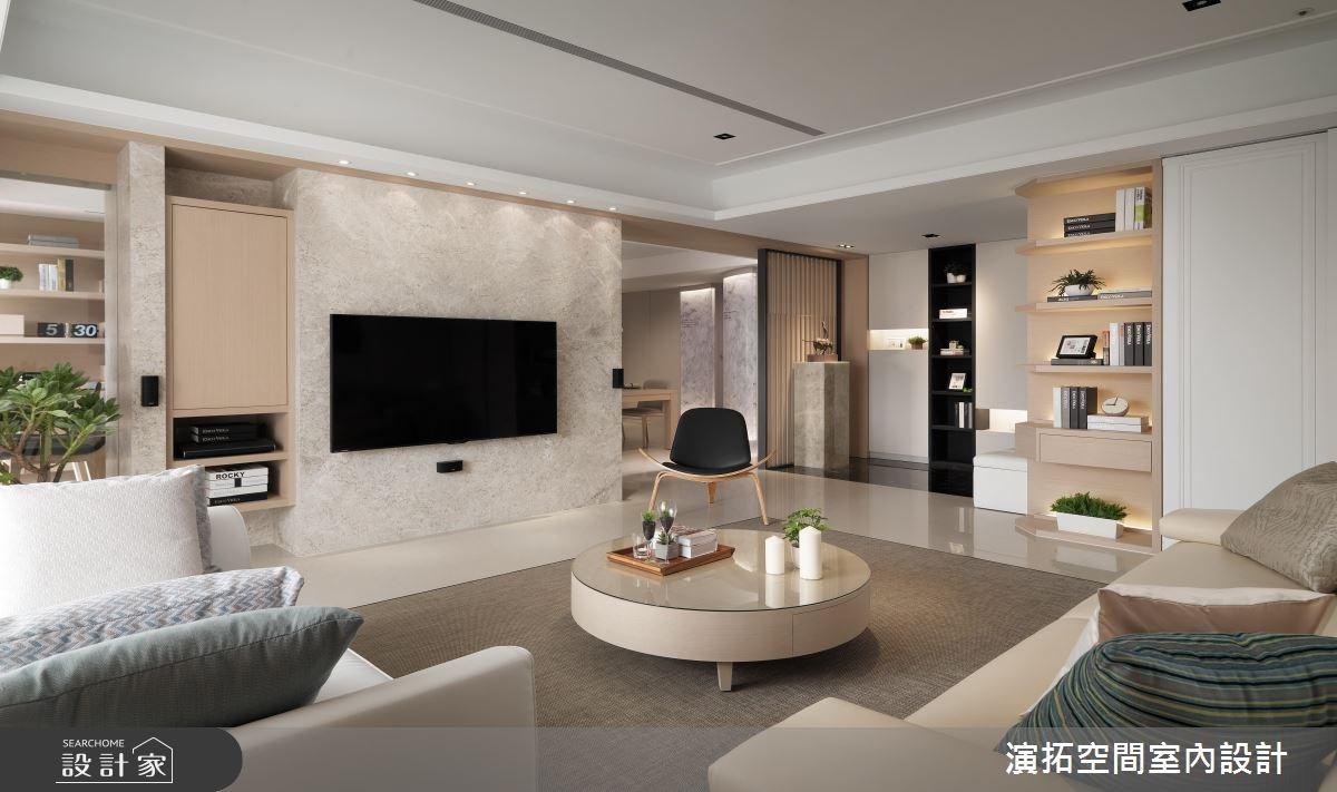 41坪新成屋(5年以下)_現代風客廳案例圖片_演拓空間室內設計_演拓_81之4