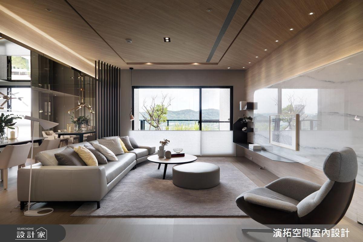 38坪新成屋(5年以下)_現代風客廳案例圖片_演拓空間室內設計_演拓_82之2