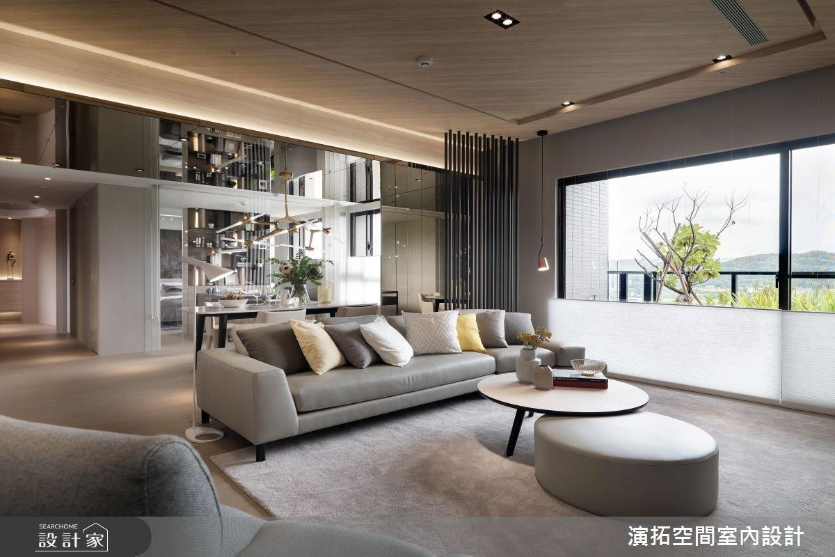38坪新成屋(5年以下)_現代風客廳案例圖片_演拓空間室內設計_演拓_82之3