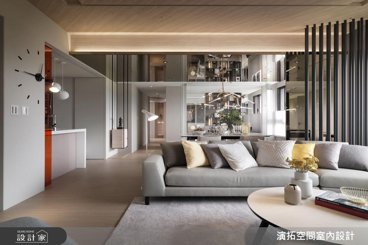 38坪新成屋(5年以下)_現代風客廳案例圖片_演拓空間室內設計_演拓_82之4