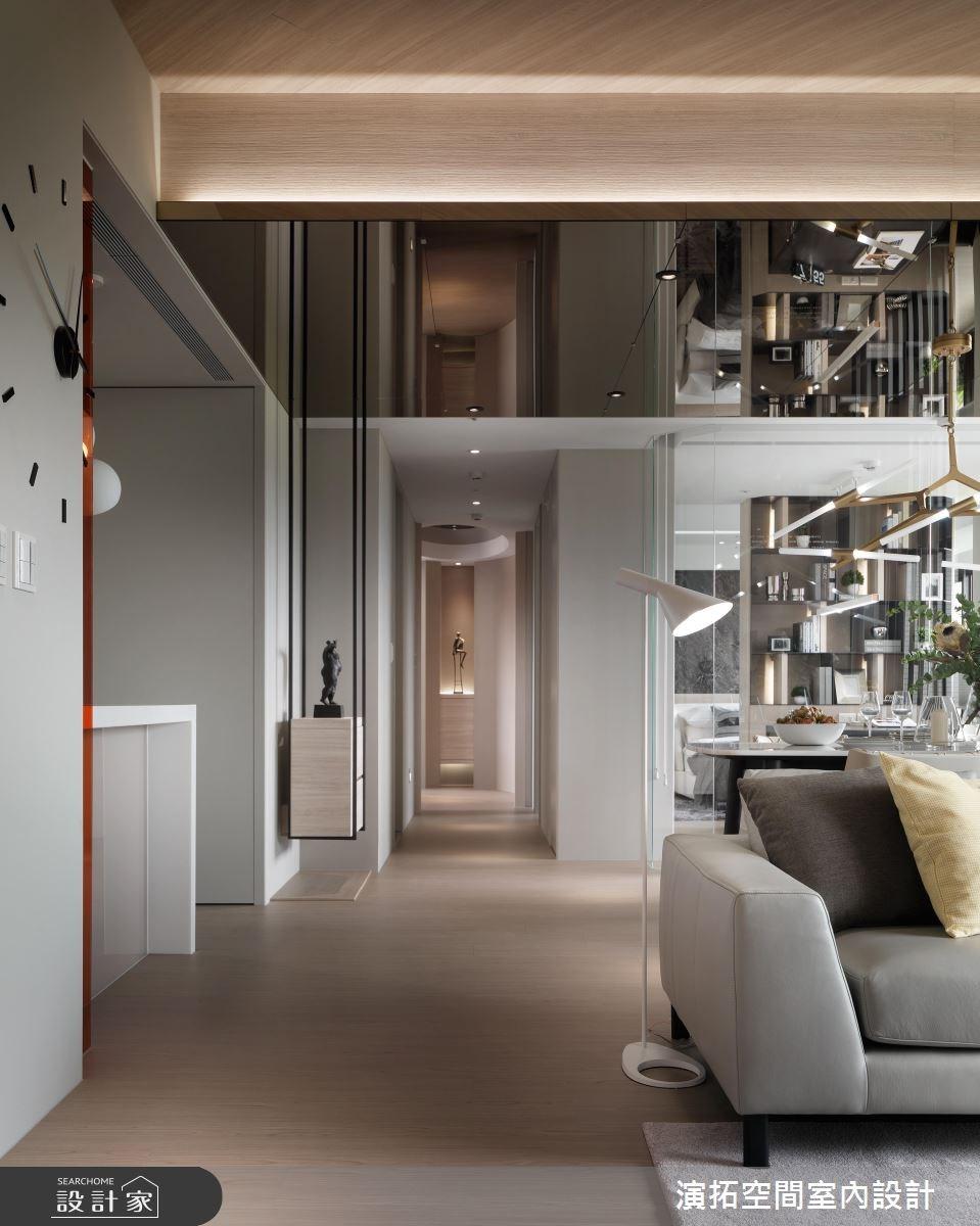 38坪新成屋(5年以下)_現代風客廳案例圖片_演拓空間室內設計_演拓_82之5