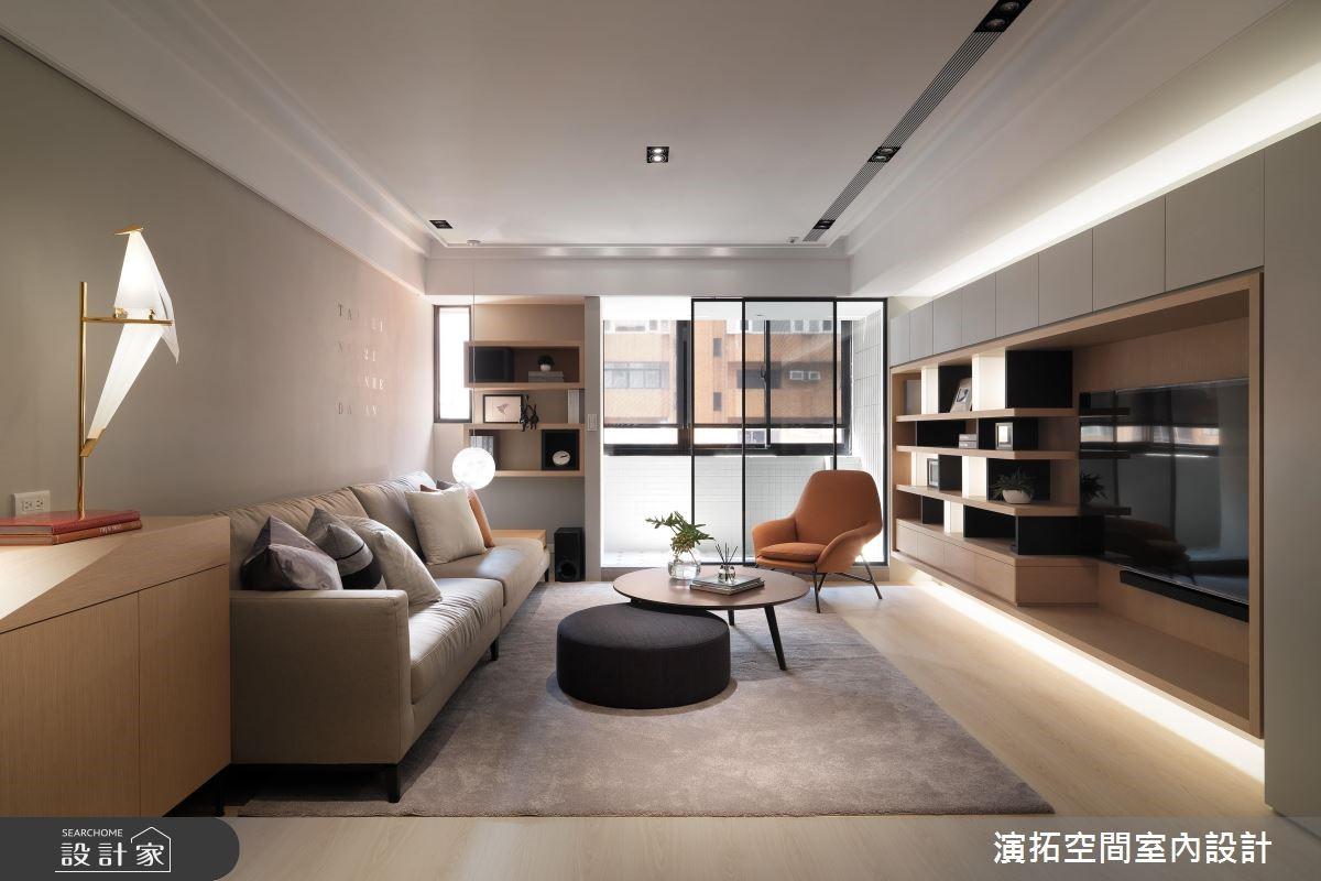 35坪老屋(16~30年)_簡約風客廳案例圖片_演拓空間室內設計_演拓_85之4