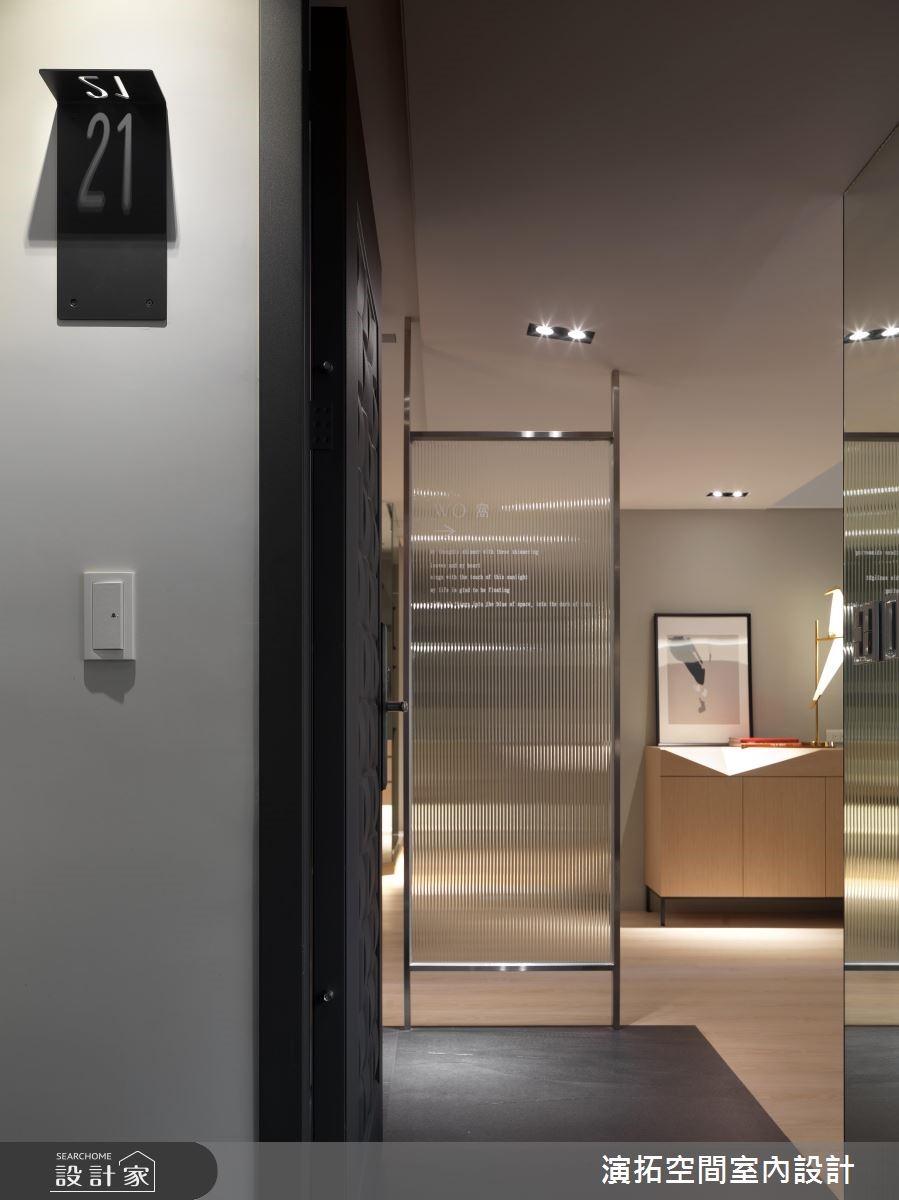 35坪老屋(16~30年)_簡約風玄關案例圖片_演拓空間室內設計_演拓_85之3
