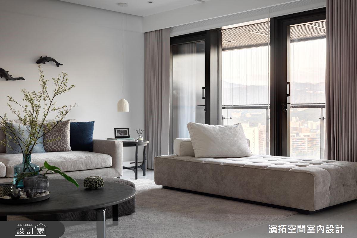 50坪新成屋(5年以下)_現代風客廳案例圖片_演拓空間室內設計_演拓_86之3