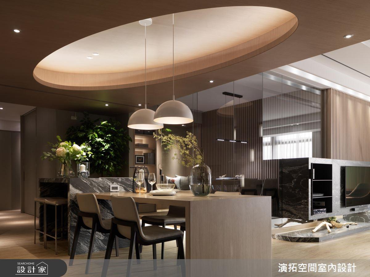 62坪新成屋(5年以下)_現代風餐廳案例圖片_演拓空間室內設計_演拓_87之5