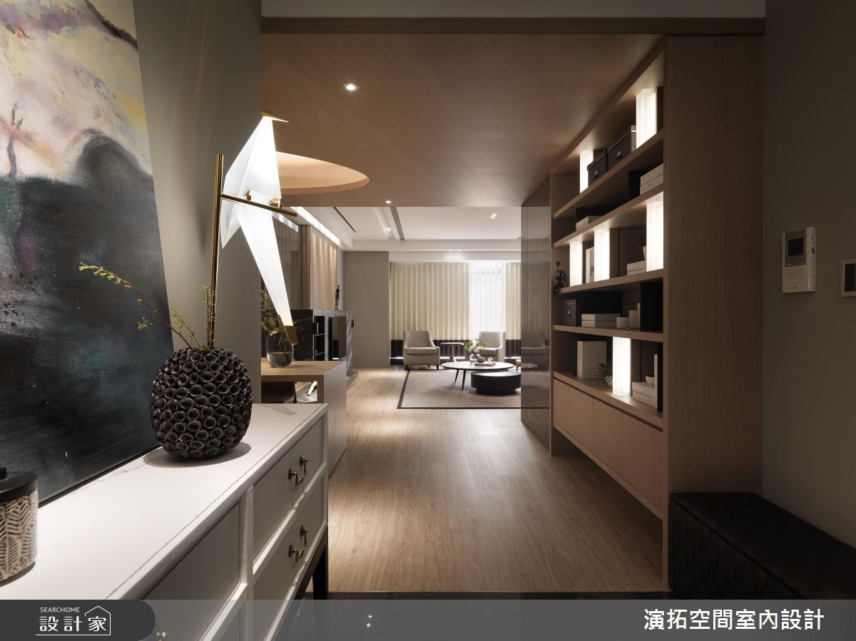 62坪新成屋(5年以下)_現代風玄關案例圖片_演拓空間室內設計_演拓_87之1