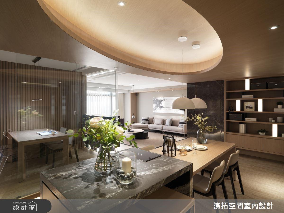 62坪新成屋(5年以下)_現代風餐廳吧檯案例圖片_演拓空間室內設計_演拓_87之4