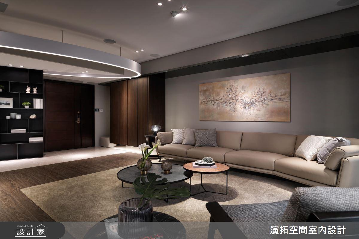 60坪新成屋(5年以下)_現代風客廳案例圖片_演拓空間室內設計_演拓_88之2
