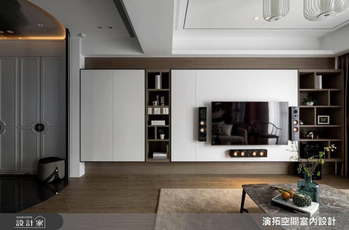 33坪新成屋(5年以下)_新中式風玄關客廳案例圖片_演拓空間室內設計_演拓_90之4