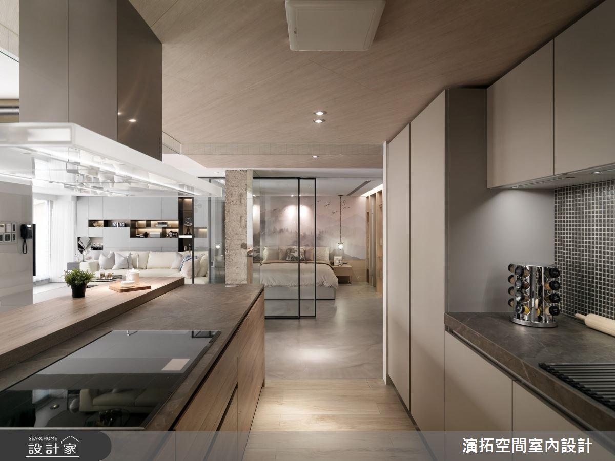 66坪老屋(16~30年)_現代風廚房吧檯案例圖片_演拓空間室內設計_演拓_91之6