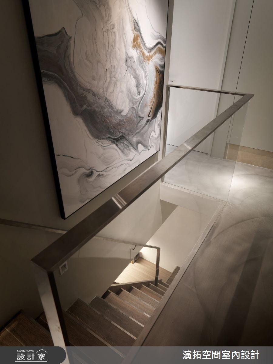 66坪老屋(16~30年)_現代風樓梯案例圖片_演拓空間室內設計_演拓_91之15
