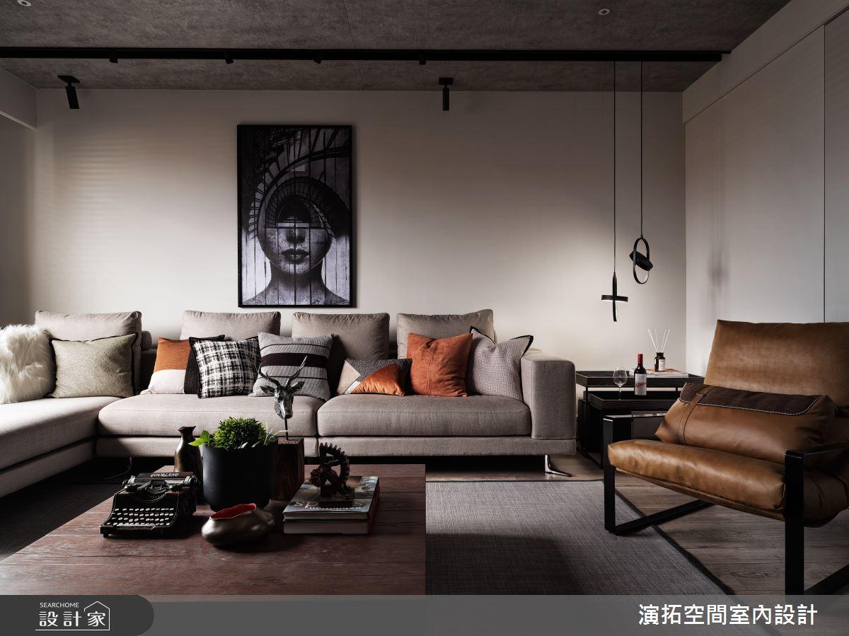 新成屋(5年以下)_工業風客廳案例圖片_演拓空間室內設計_演拓_95之2