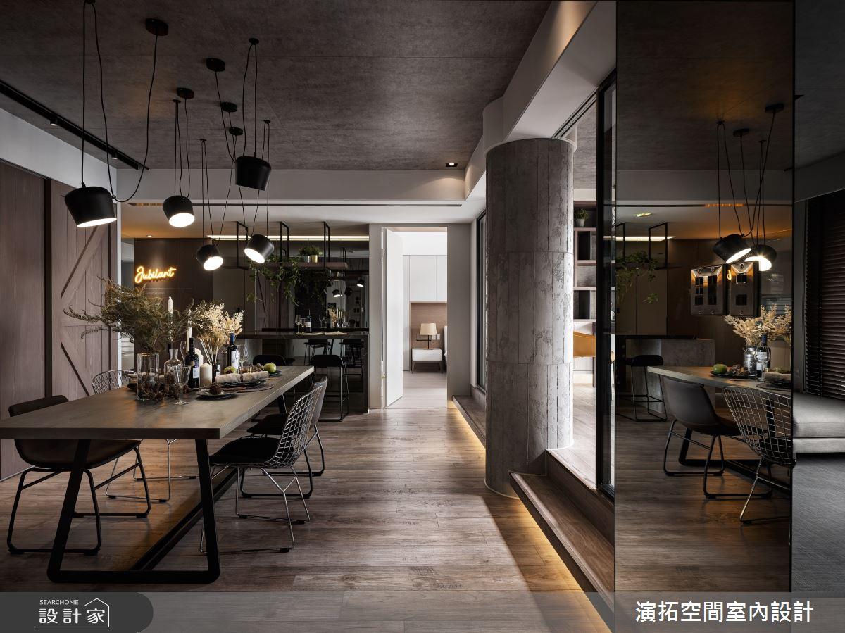新成屋(5年以下)_工業風餐廳案例圖片_演拓空間室內設計_演拓_95之4