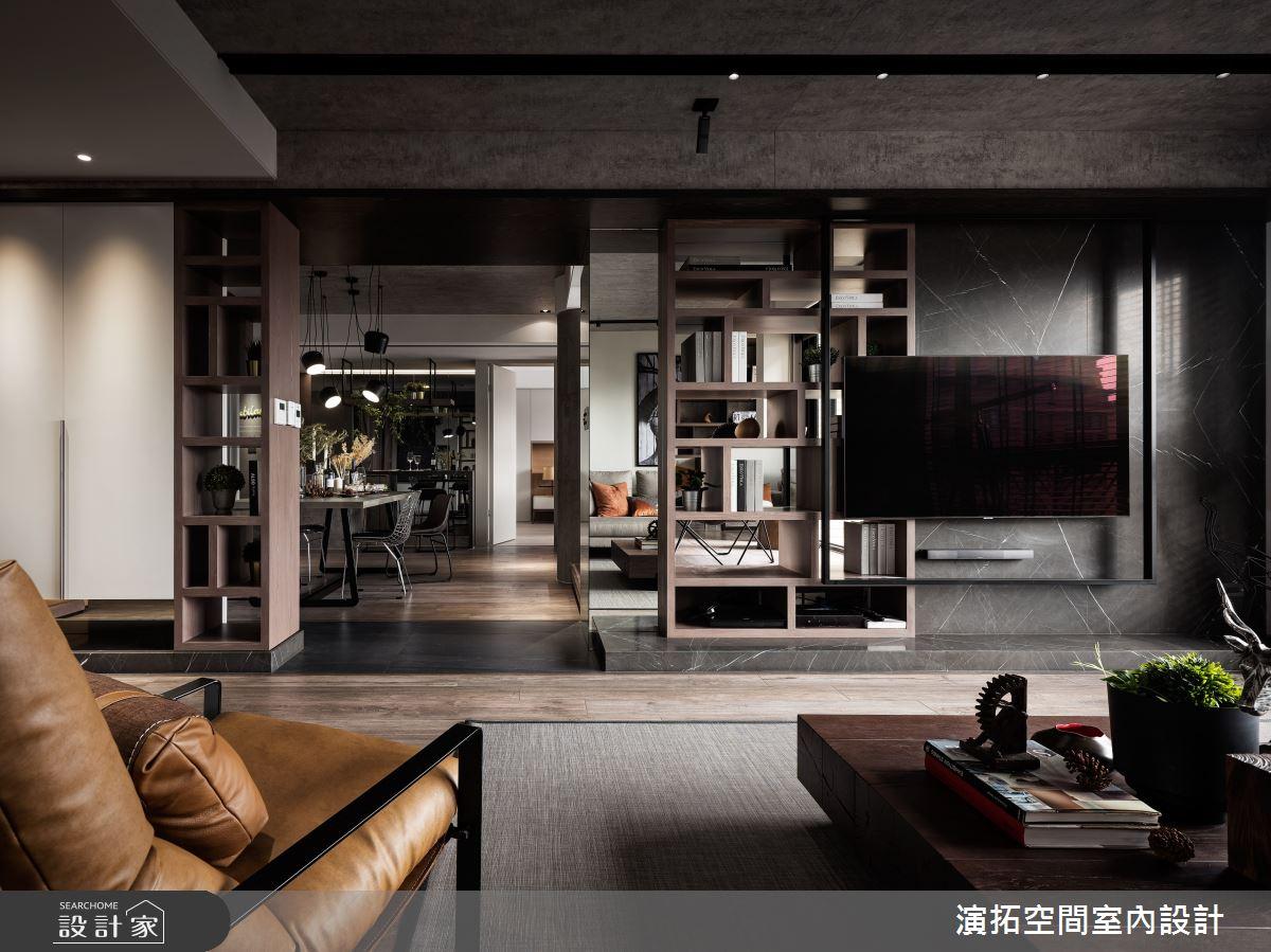 新成屋(5年以下)_工業風客廳案例圖片_演拓空間室內設計_演拓_95之3