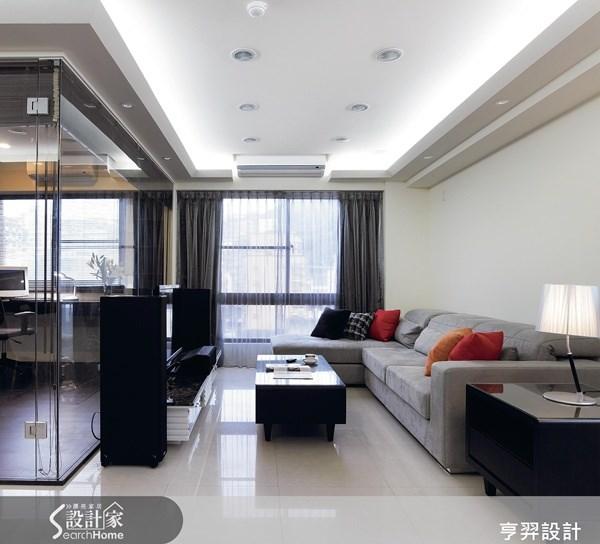 35坪新成屋(5年以下)_現代風案例圖片_亨羿生活空間設計_亨羿_34之1