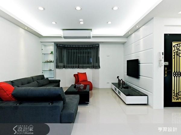 40坪新成屋(5年以下)_現代風案例圖片_亨羿生活空間設計_亨羿_44之1