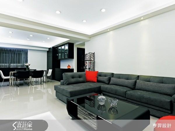 40坪新成屋(5年以下)_現代風案例圖片_亨羿生活空間設計_亨羿_44之2