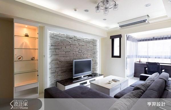 30坪新成屋(5年以下)_簡約風案例圖片_亨羿生活空間設計_亨羿_45之3
