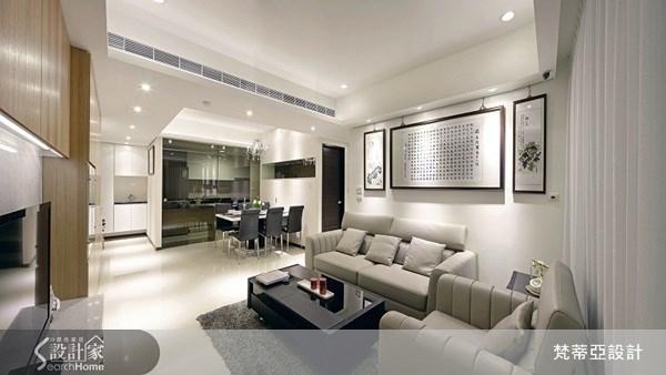 25坪新成屋(5年以下)_混搭風案例圖片_梵蒂亞設計_梵蒂亞_14之2