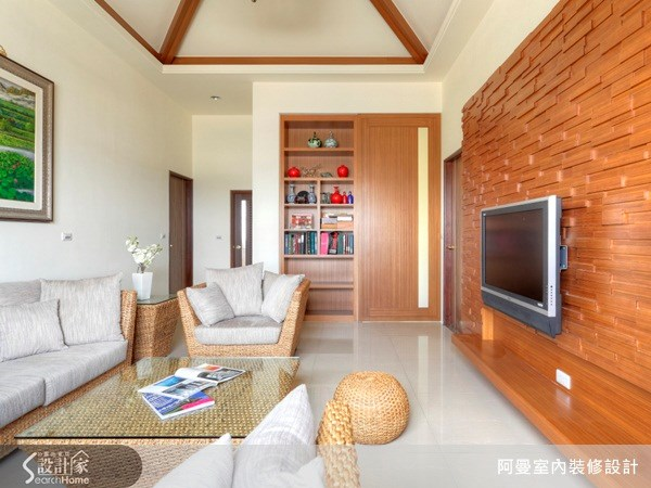 119坪新成屋(5年以下)_混搭風客廳案例圖片_阿曼空間設計_阿曼_09之15