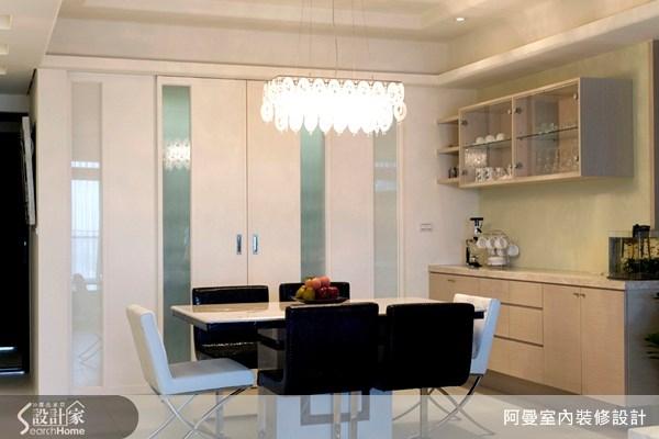 36坪新成屋(5年以下)_現代風餐廳案例圖片_阿曼空間設計_阿曼_10之4