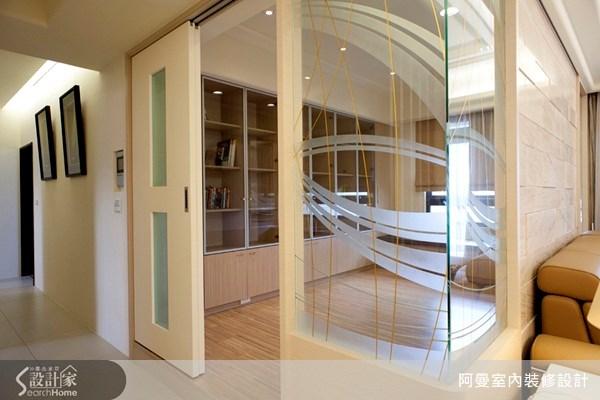 36坪新成屋(5年以下)_現代風書房案例圖片_阿曼空間設計_阿曼_10之10