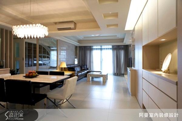 36坪新成屋(5年以下)_現代風餐廳案例圖片_阿曼空間設計_阿曼_10之5