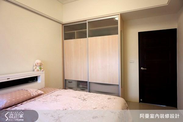 36坪新成屋(5年以下)_現代風臥室案例圖片_阿曼空間設計_阿曼_10之13