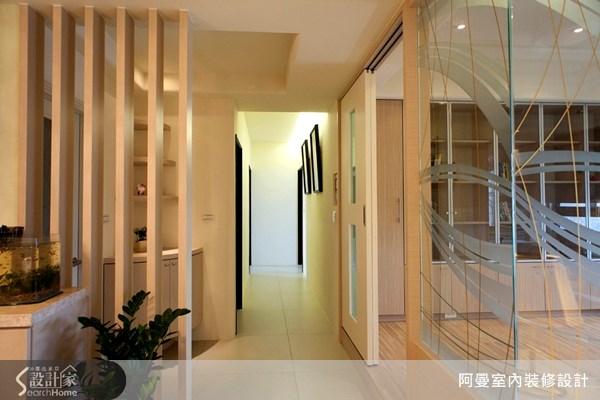 36坪新成屋(5年以下)_現代風玄關案例圖片_阿曼空間設計_阿曼_10之9