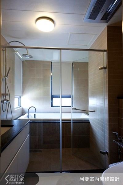 36坪新成屋(5年以下)_現代風浴室案例圖片_阿曼空間設計_阿曼_10之14