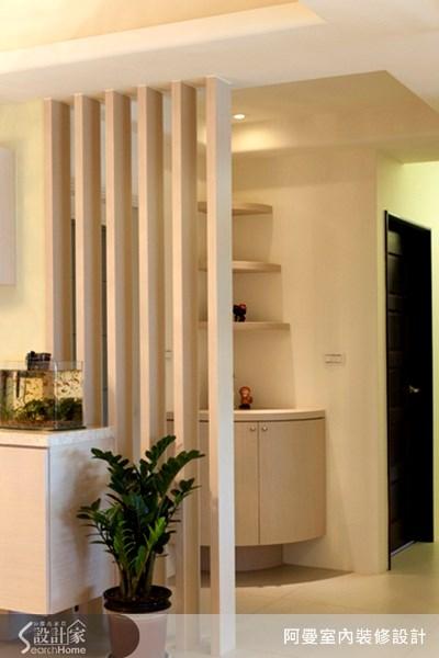 36坪新成屋(5年以下)_現代風玄關案例圖片_阿曼空間設計_阿曼_10之2